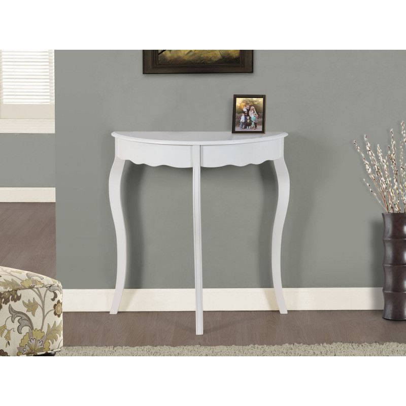 Monarch - Antique White Console