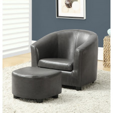Monarch - Juvenile Chair 2pc Set Charcoal