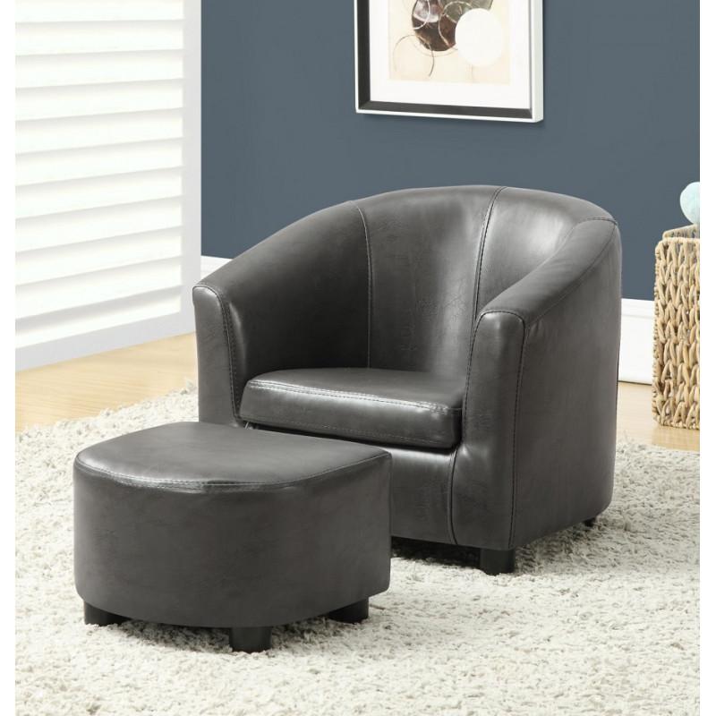 Monarch - Juvenile Chair 2pc Set Charcoal