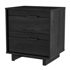 South Shore - Fynn - 2 Drawer Night Stand - Grey