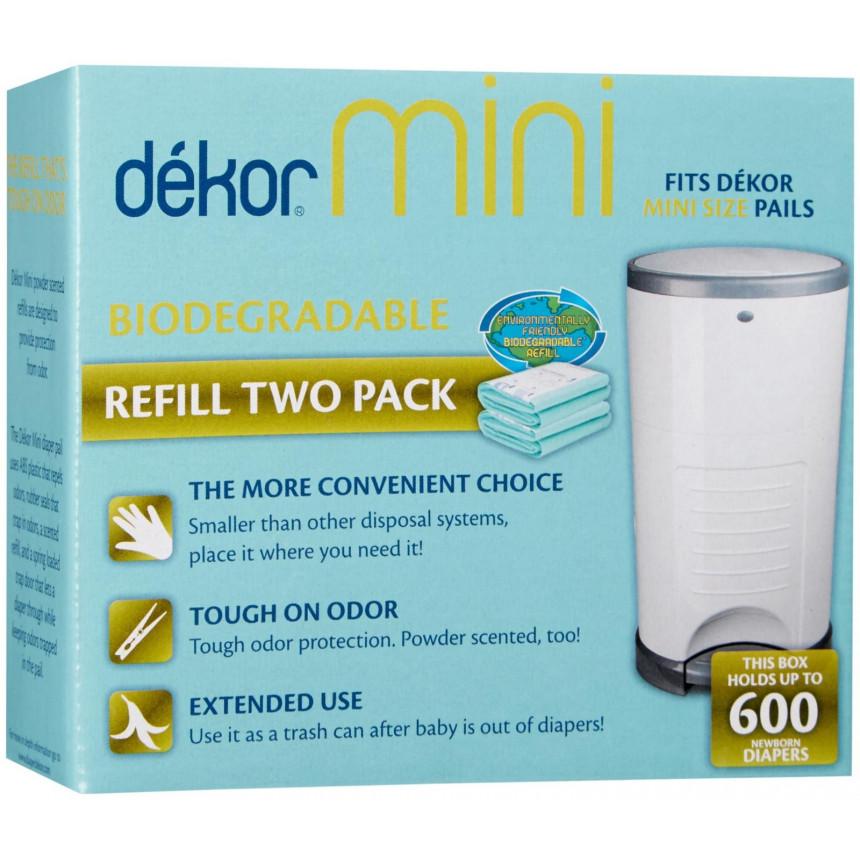 Dékor - Diaper Pail Mini Refill 600 Bags