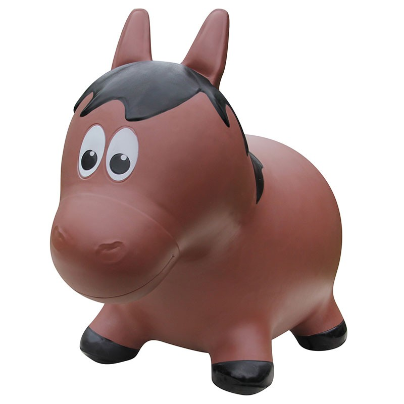 Farm Hoppers - Inflatable Bouncer - Brown Horse