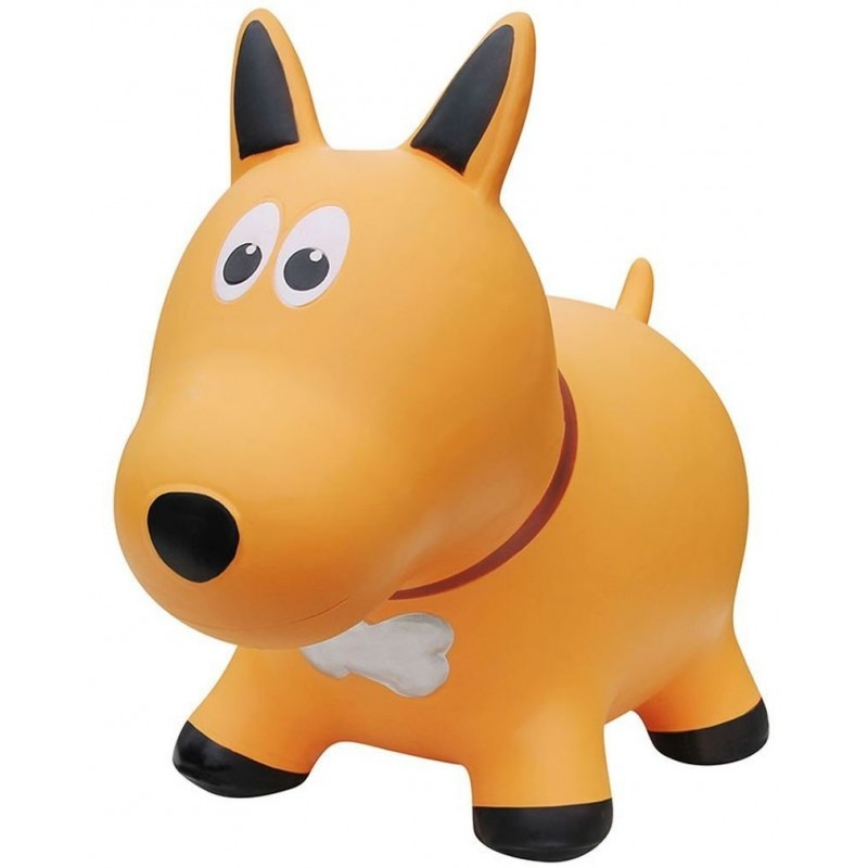 Farm Hoppers - Inflatable Bouncer - Yellow Dog
