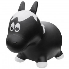 Farm Hoppers - Black Horse Inflatable Bouncer