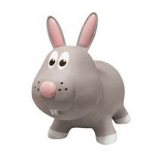 Farm Hoppers - Grey Rabbit Inflatable Bouncer