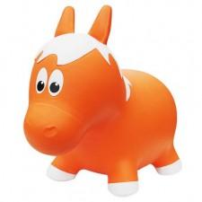 Farm Hoppers - Sauteur Gonflable - Cheval Orange
