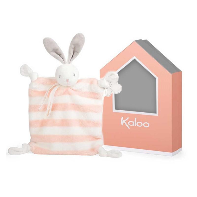 Kaloo - Bébé Pastel - Lapin Pêche Doudou
