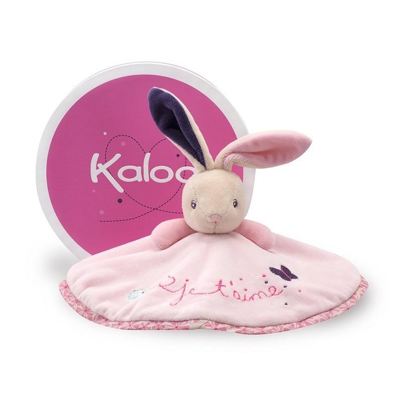 Kaloo - Petite Rose - Doudou Lapin Amour