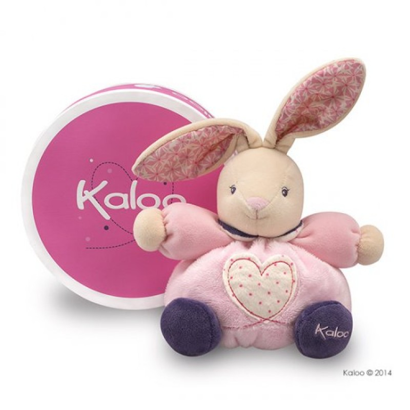 Kaloo - Petite Rose - Petit Cœur Lapin