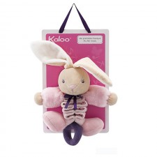 Kaloo - Petite Rose - Petit Zig Musical Lapin