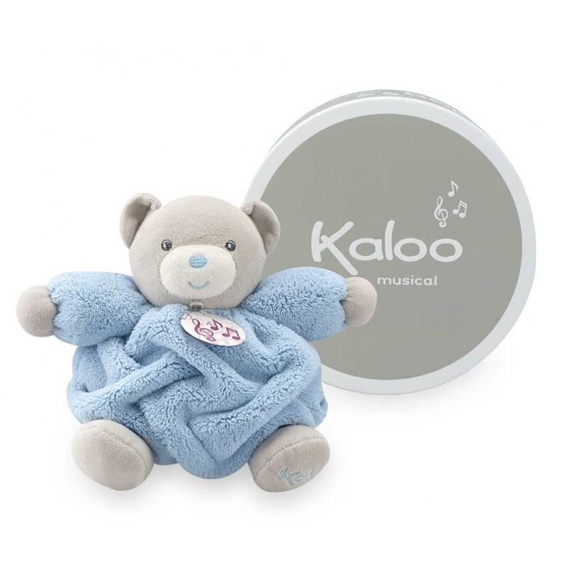 Kaloo - Plume - Musical Bear Blue