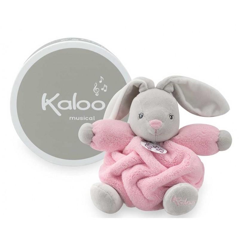 Kaloo - Plume - Lapin Musical Rose