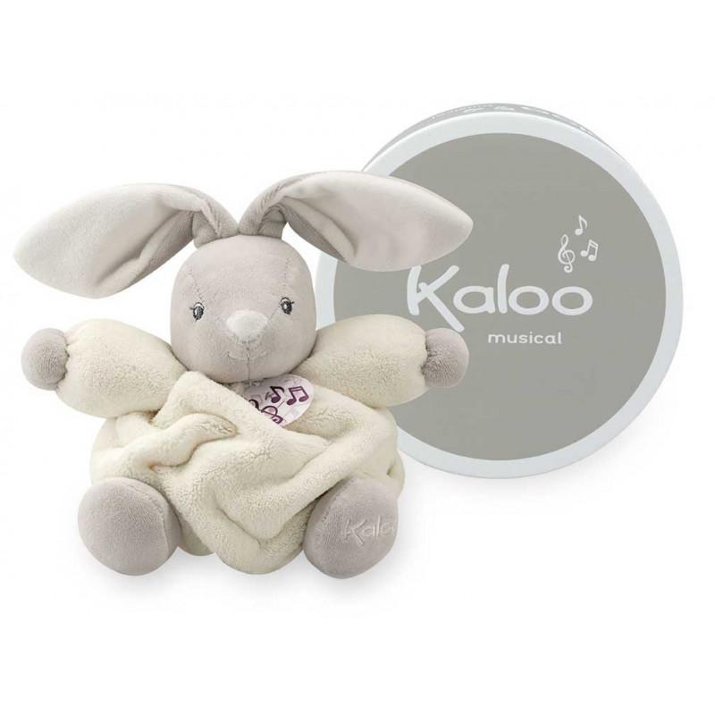 Kaloo - Plume - Musical Rabbit Cream