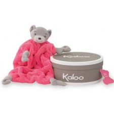 Kaloo - Colors - Doudou Ourson Neon Rose