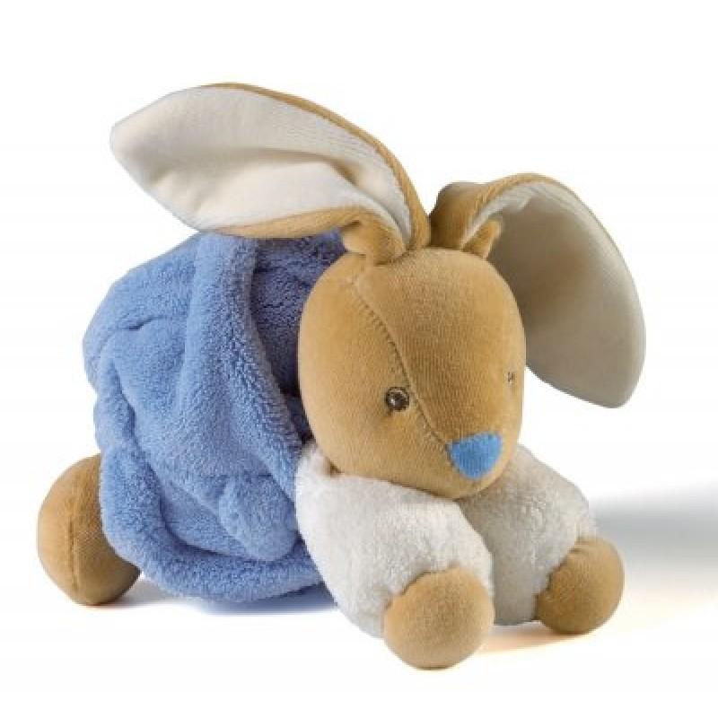 Kaloo - Plume - Petit lapin indigo