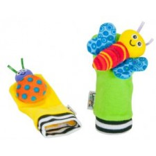 Lamaze - High Contrast Foot Finders Baby Rattles