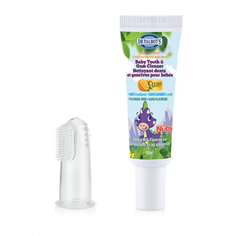 Nuby - Nettoyant dents et gencives pour bébés