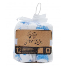 Jesse+Lulu - 12 Supersoft Washcloths